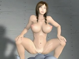 3D Alien Housewife