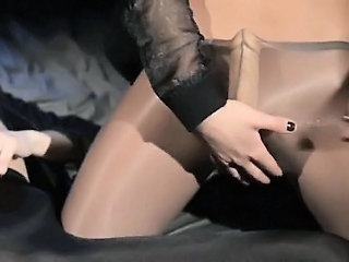 Pantyhose Strapon Teen