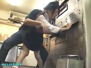 Asian Forced Hardcore Kitchen Teen