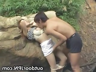 Amateur Asian Girlfriend Japanese Outdoor Public Amateur