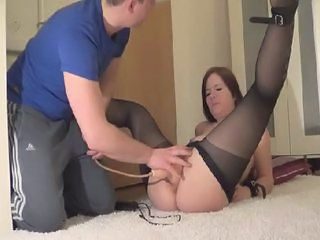 Dildo European  Orgasm Stockings Huge