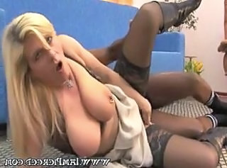 Big Tits European German Hardcore Interracial  Natural Piercing  Stockings German
