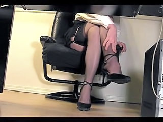 Legs Office Secretary Stockings