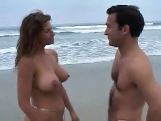 Beach Big Tits  Natural Outdoor