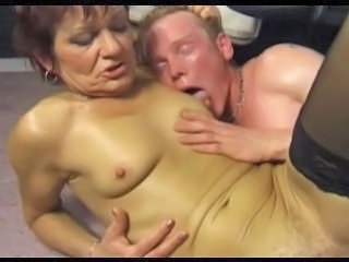 European Granny Nipples Stockings