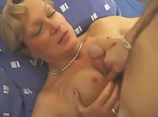 Mature Mom Old and Young Tits job