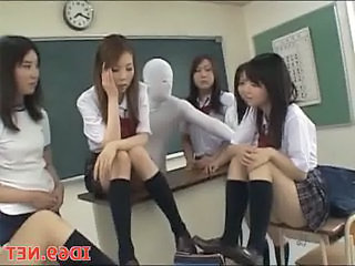 Asian Fetish Japanese School Student Teen Uniform Public