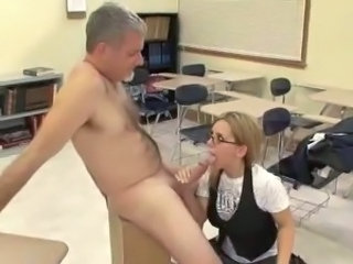 Blowjob Daddy Old and Young School Student Teacher Teen