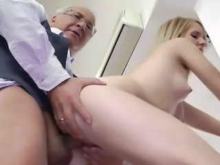 Daddy Doggystyle Old and Young Teacher Teen