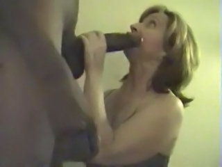 Amateur  Blowjob Homemade Interracial Mature Wife
