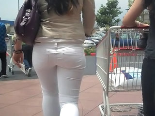 Ass Jeans Outdoor Public Voyeur