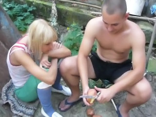 Girlfriend Outdoor Teen Public