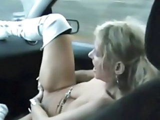 Car European Masturbating