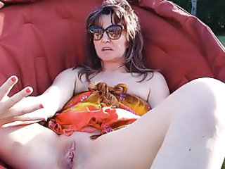 Glasses Masturbating Mature Shaved
