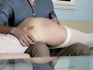 European German Girlfriend  Spanking German
