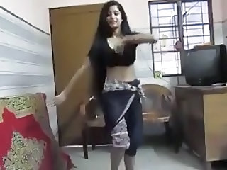 Amateur Dancing Indian Teen