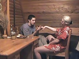 Amateur Family  Mom Russian Son