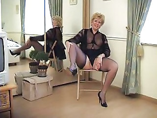 Chubby European Lingerie Mature Stockings