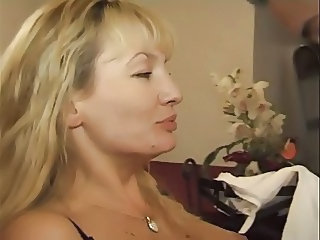 Anal Blonde European French Mature Mom French