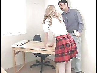 Blonde Cute European Teacher Teen