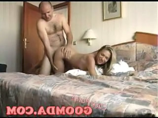 Amateur Daddy Daughter Doggystyle Homemade Old and Young Teen Hotel