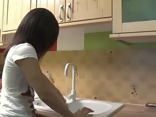 Cute European French Kitchen Teen