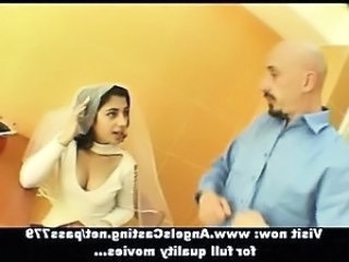Amateur Bride Brunette Indian Teen Uniform