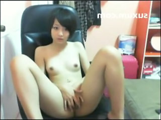 Asian Cute Masturbating Skinny Small Tits Teen Thai Webcam Fingering