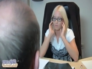 Glasses Office Pornstar Secretary