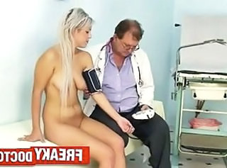 Daddy Doctor Old and Young  Teen Gyno