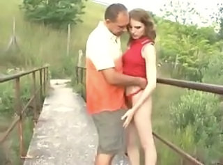 European  Outdoor Orgy Public