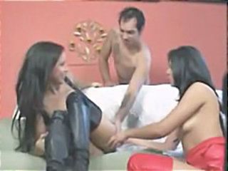 Anal Fisting Indian Latex  Threesome