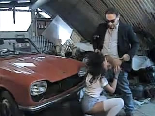 Blowjob Car Clothed European Italian  Vintage Italian