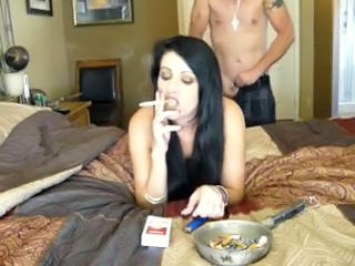 Amateur Girlfriend Homemade Smoking