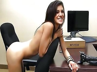 Amateur Casting Office Teen