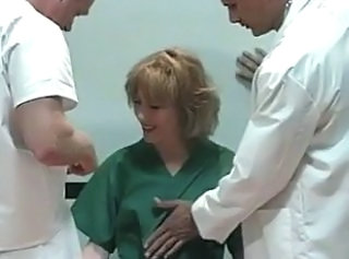 Doctor Double Penetration  Threesome