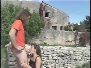 Blowjob European French Outdoor Teen