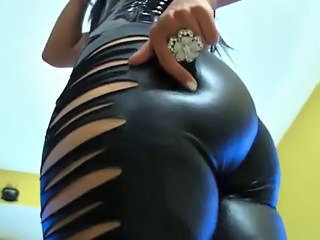 Ass Latex  Leather