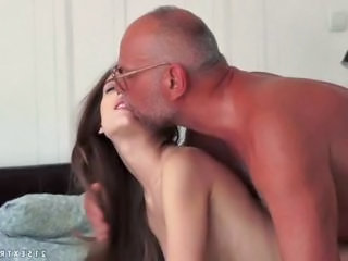 Cute Old and Young Skinny Teen
