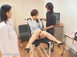 Asian Doctor Japanese Teen Threesome Uniform