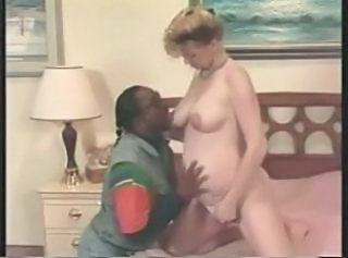 European Interracial Pregnant Vintage
