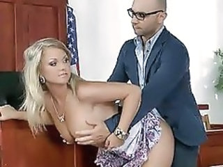 Amazing Doggystyle  Office Secretary