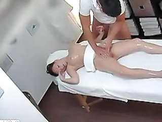 HiddenCam Massage Oiled Teen Voyeur