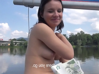 Amateur Cash European Outdoor Pov Public Teen Czech Amateur