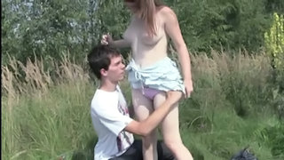 Amateur Girlfriend Outdoor Teen Outdoor