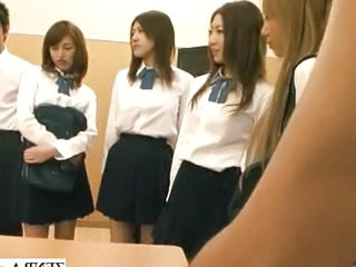 Asian Japanese Student Teen Uniform Public