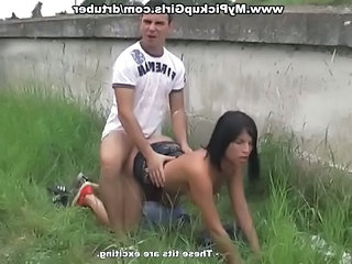 Amateur Clothed Doggystyle Outdoor Public Teen Outdoor