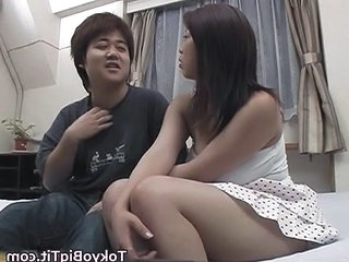 Amateur Asian Girlfriend Skirt Teen Sperm