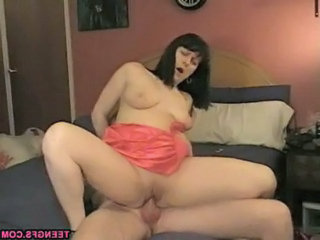 Amateur Homemade Riding  Wife Housewife