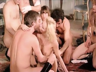 Groupsex Orgy Vintage French
